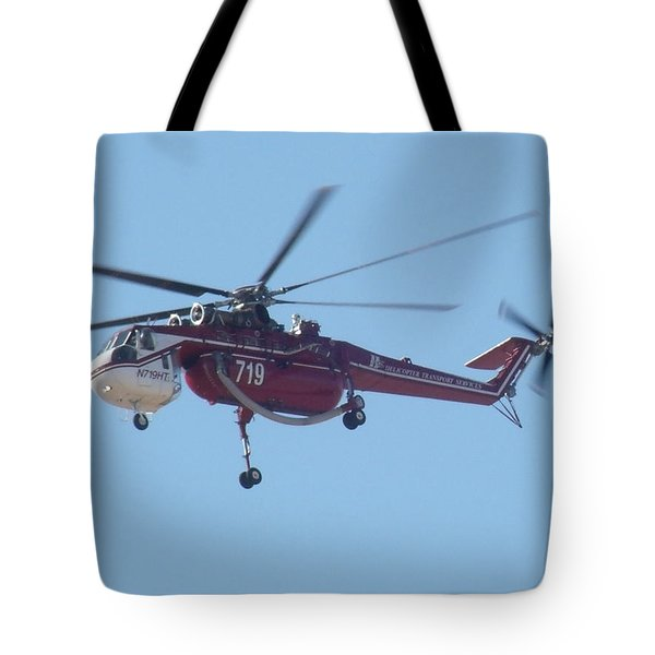 Firefighter Tote Bag by David S Reynolds
