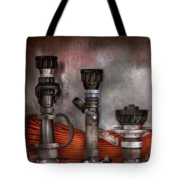 Firefighting - One for everyone Tote Bag by Mike Savad