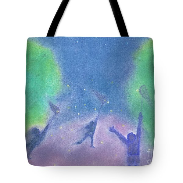 Fireflies By Jrr Tote Bag by First Star Art
