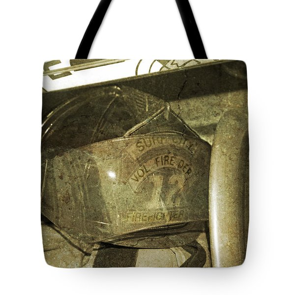 Firehat Tote Bag by Betsy C Knapp