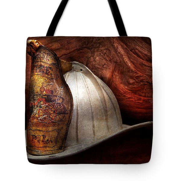 Fireman - The fire chief Tote Bag by Mike Savad
