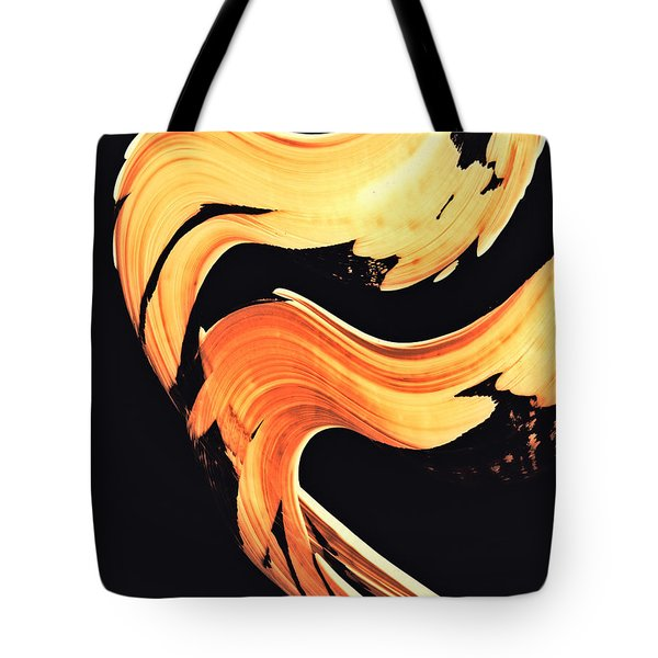 Firewater 5 - Abstract Art By Sharon Cummings Tote Bag by Sharon Cummings