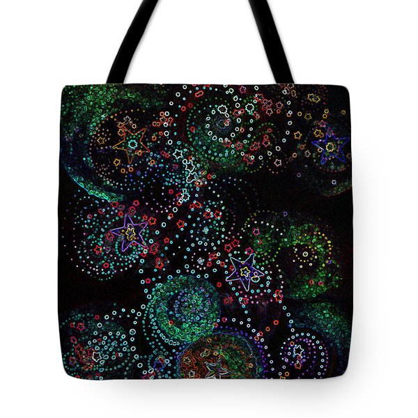 Fireworks Celebration By Jrr Tote Bag by First Star Art