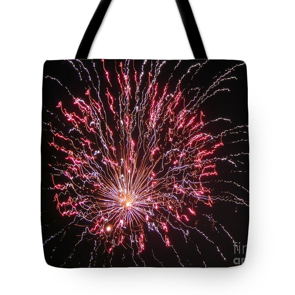 Fireworks For All Tote Bag by Terry Weaver