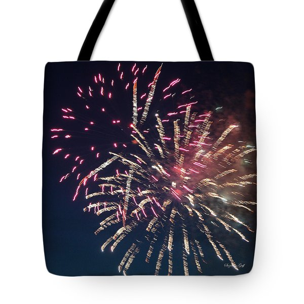 Fireworks Series XIII Tote Bag by Suzanne Gaff