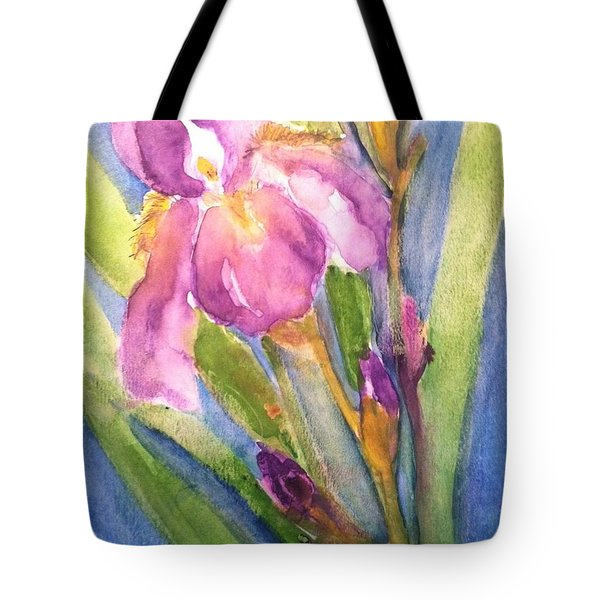 First Bloom Tote Bag by Sherry Harradence