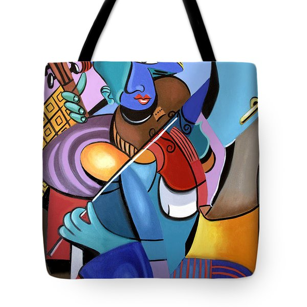 First Chair Tote Bag by Anthony Falbo