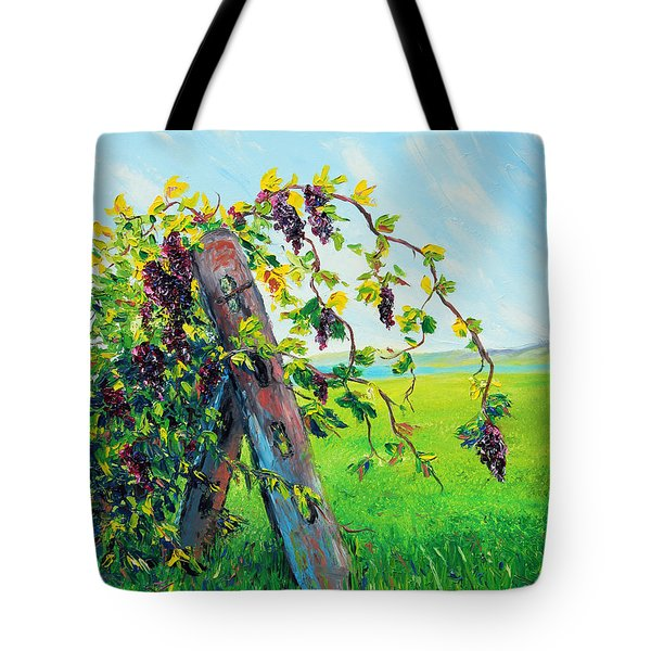 First Fruits Tote Bag by Meaghan Troup