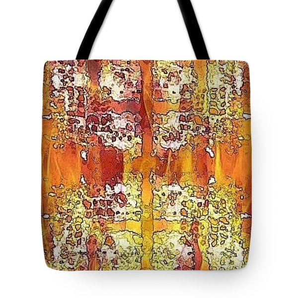 First Impression Tote Bag by PainterArtist FIN