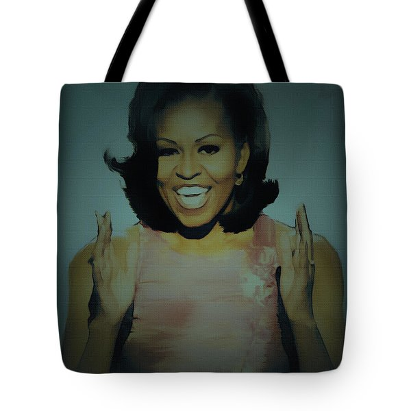 First Lady Tote Bag by BRIAN REAVES