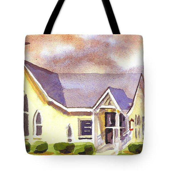 First Presbyterian Church Ironton Missouri Tote Bag by Kip DeVore