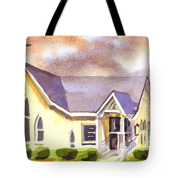 First Presbyterian Church Ironton Missouri Tote Bag by Kip DeVore