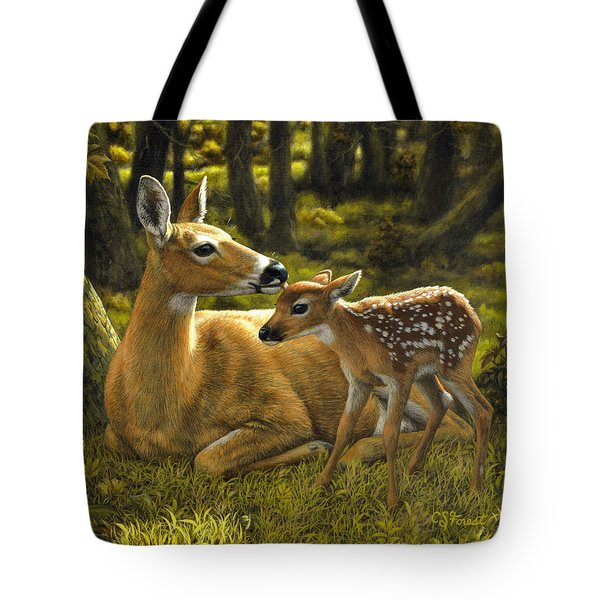 First Spring - variation Tote Bag by Crista Forest