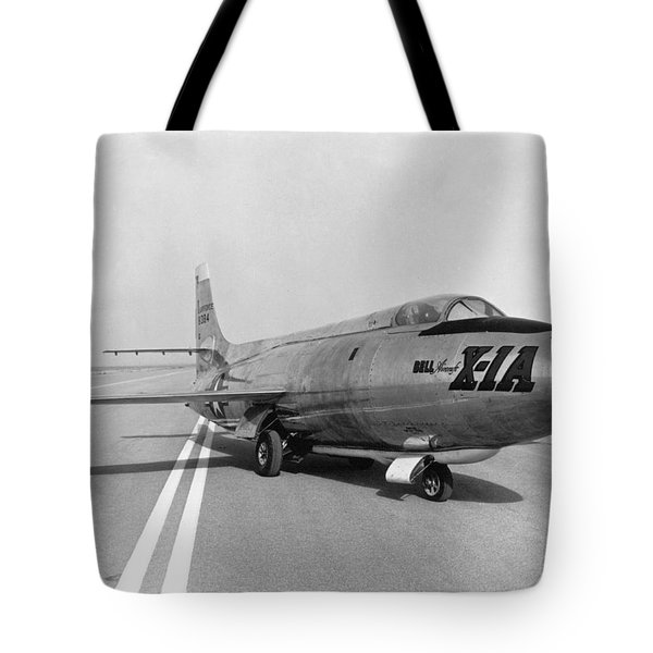 Tote Bag featuring the photograph First Supersonic Aircraft, Bell X-1 by Science Source