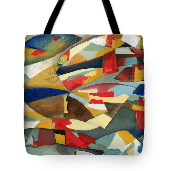 Fish 1 Tote Bag by Danielle Nelisse