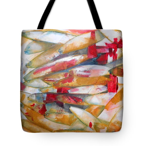 Fish 3 Tote Bag by Danielle Nelisse