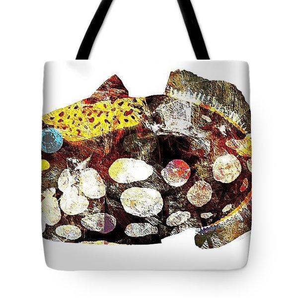 Fish 504-11-13 Marucii Tote Bag by Marek Lutek