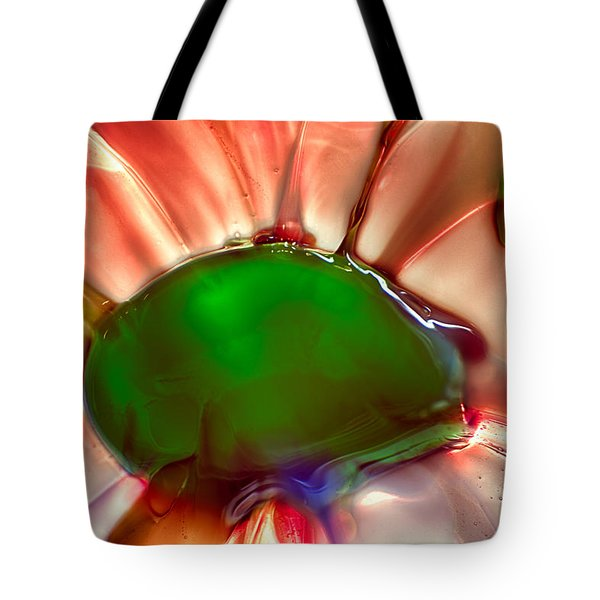Fish Mohawk Tote Bag by Omaste Witkowski