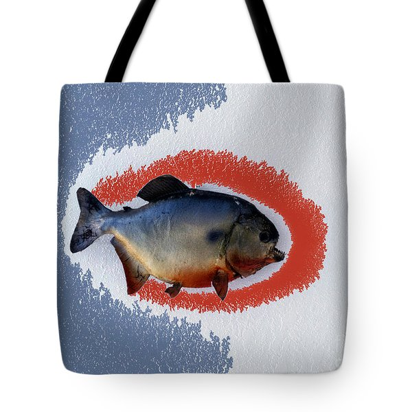 Fish Mount Set 12 B Tote Bag by Thomas Woolworth