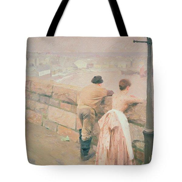 Fisherman St. Ives Tote Bag by Anders Leonard Zorn