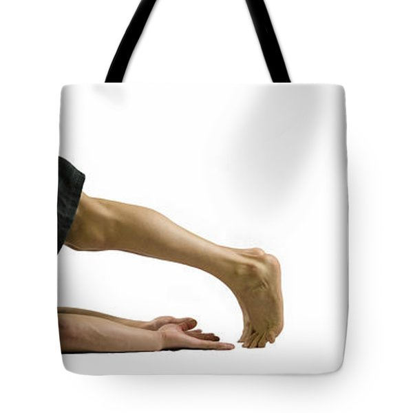 Fit To Fight Tote Bag by Lisa Knechtel