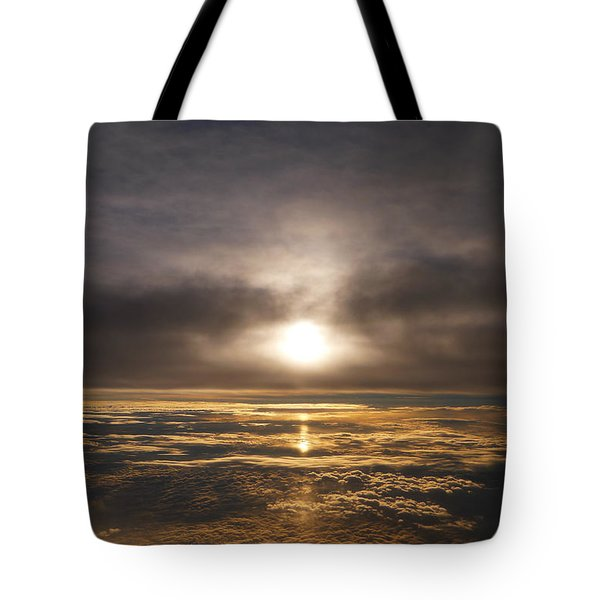 Five And A Half Mile Sunset Tote Bag by Richard Reeve