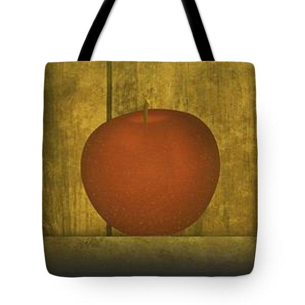 Five Apples  Tote Bag by David Dehner