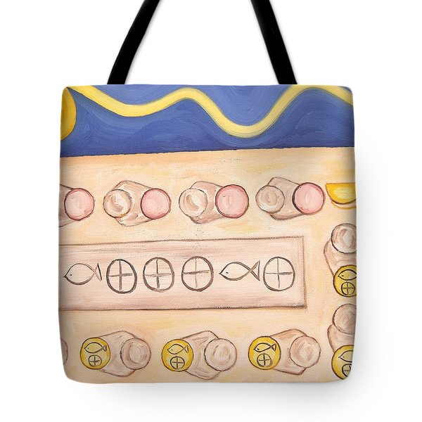 Five Loaves And Two Fish Tote Bag by Patrick J Murphy