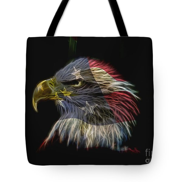 Flag Of Honor Tote Bag by Deborah Benoit