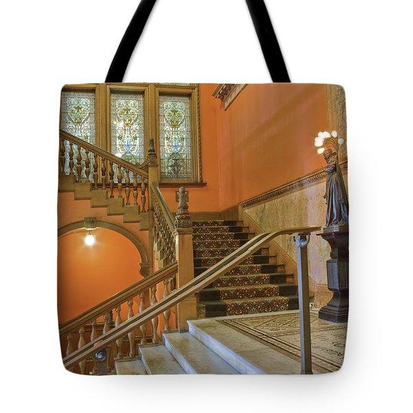 Flagler College Entryway Tote Bag by Rich Franco