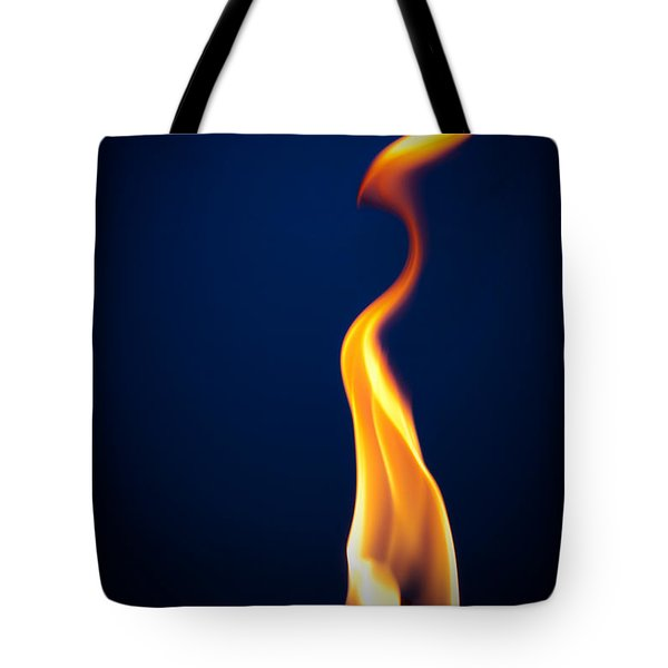 Flame Tote Bag by Darryl Dalton