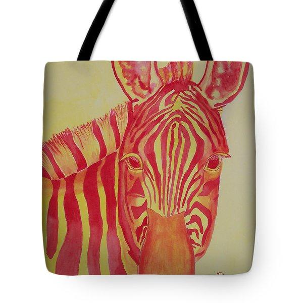 Flame Tote Bag by Rhonda Leonard