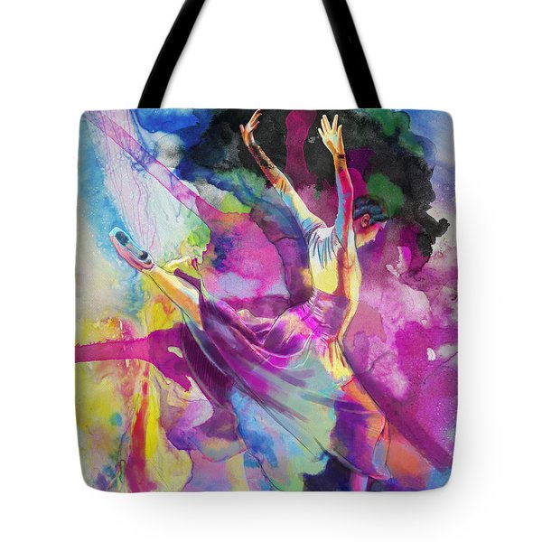 Flamenco Dancer Tote Bag by Catf