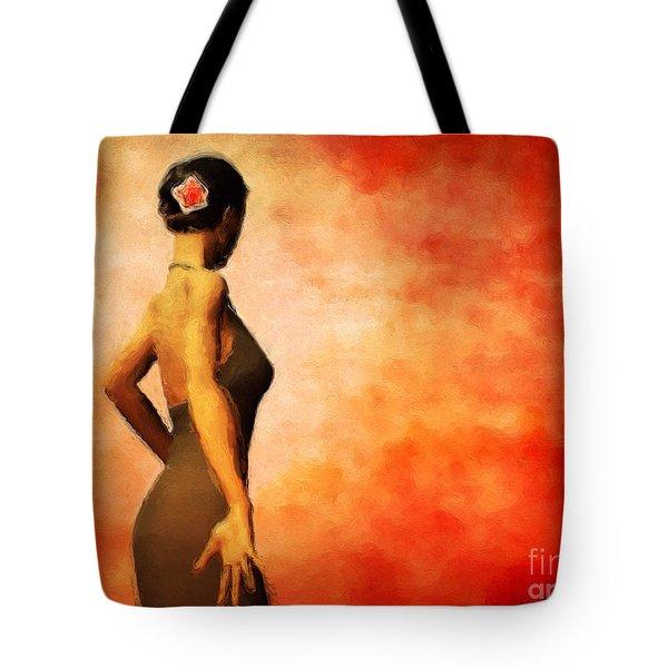 Flamenco Tote Bag by John Edwards