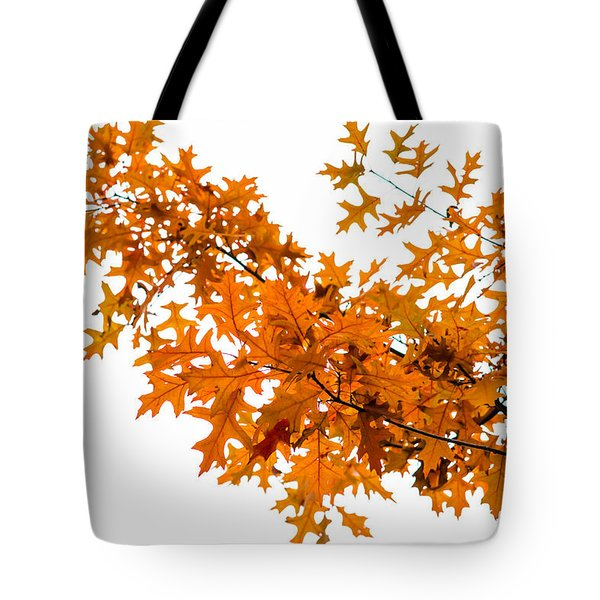 Flames Of The Season - Featured 3 Tote Bag by Alexander Senin