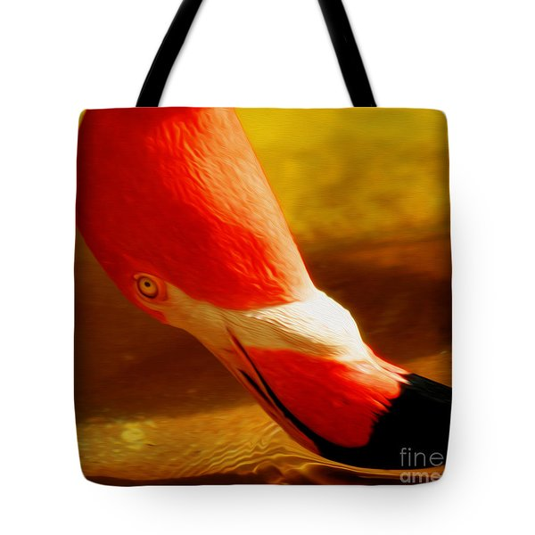 Flamingo Beauty Tote Bag by Cheryl Young