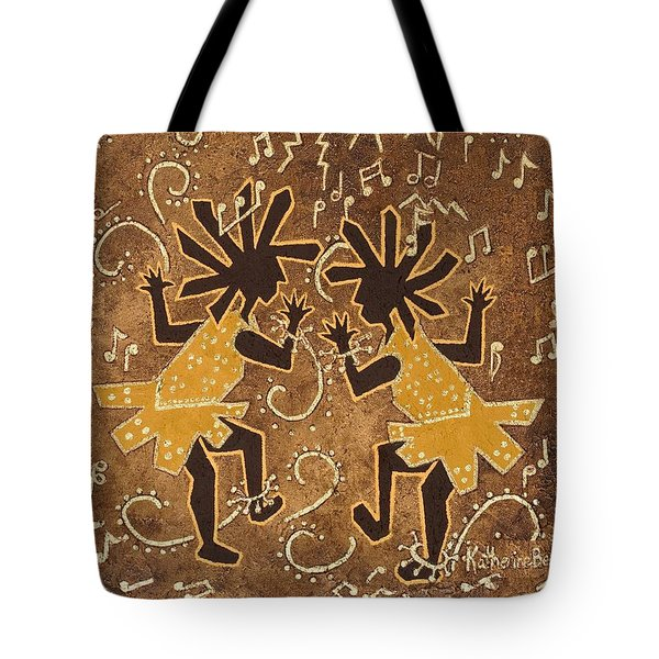 Flappers Tote Bag by Katherine Young-Beck