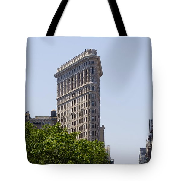 Flat Iron Building Tote Bag by Bill Cannon