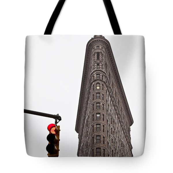 Flatiron Tote Bag by Dave Bowman