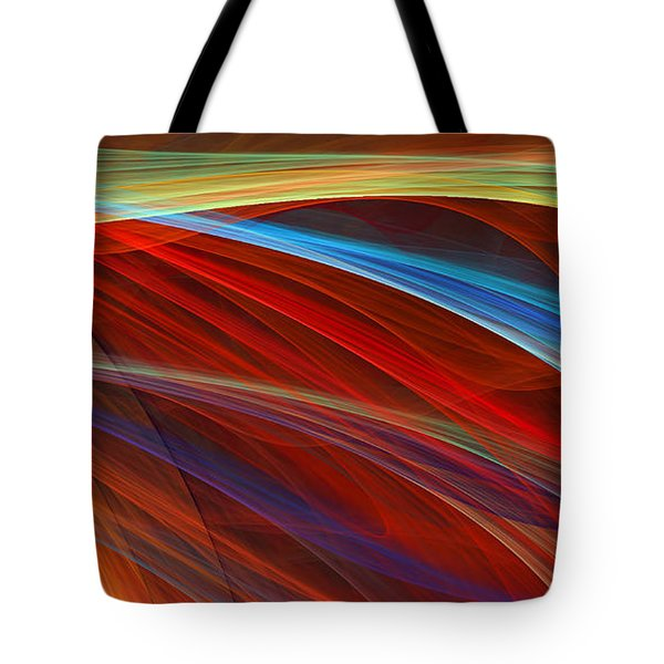 Flaunting Colors Tote Bag by Lourry Legarde