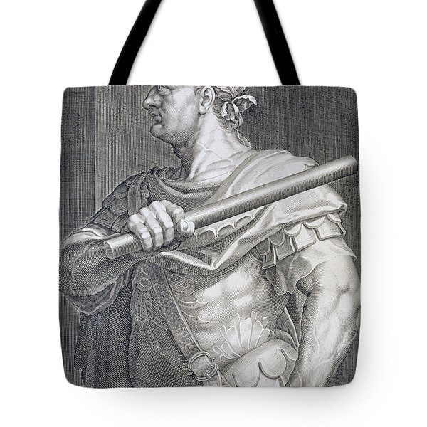 Flavius Domitian Tote Bag by Titian