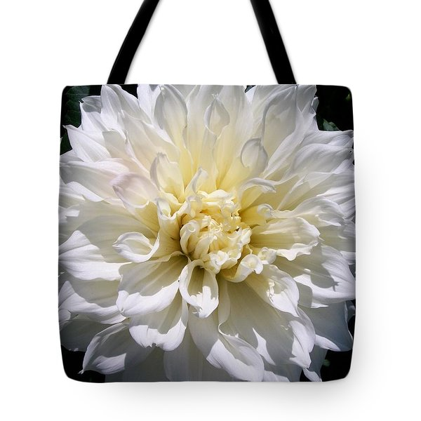 Fleurel Dahlia Tote Bag by Sharon Duguay