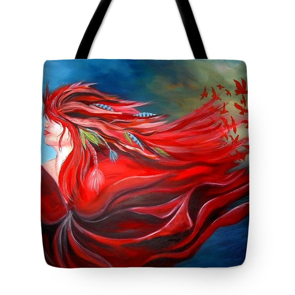 Flight Dreaming Tote Bag by Michelle Pope