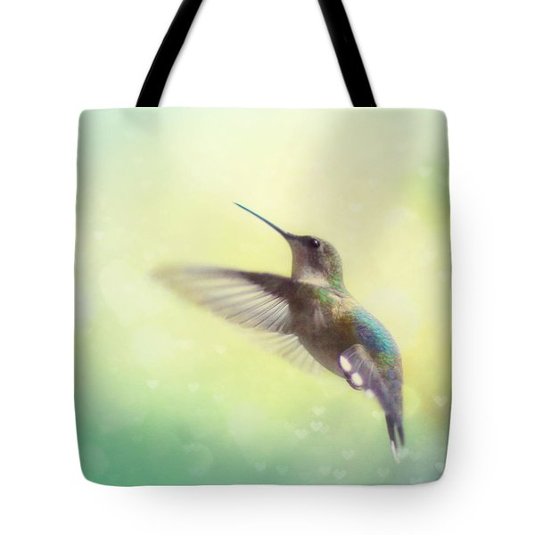 Flight Of Fancy Tote Bag by Amy Tyler
