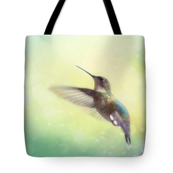 Flight of Fancy Tote Bag by Amy Tyler