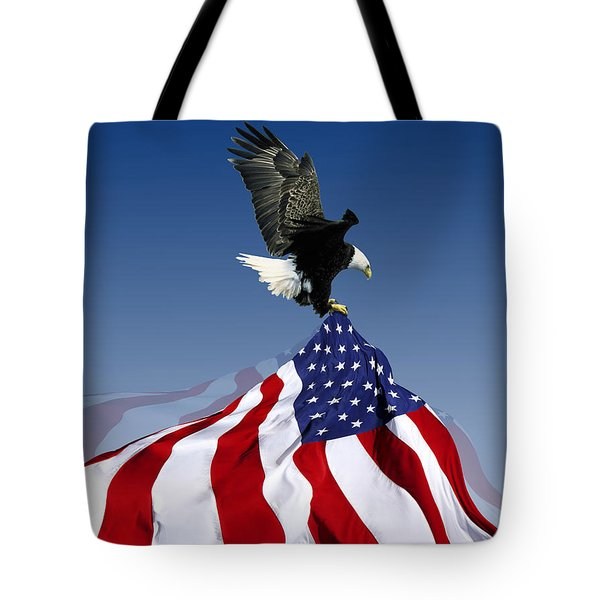 Flight To Freedom Tote Bag by Filippo B