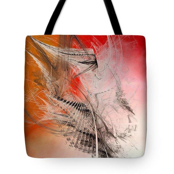 Flights Of Enthusiasm - Icarus Tote Bag by Menega Sabidussi