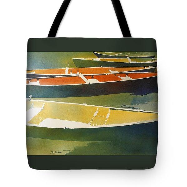 Floaters Tote Bag by Kris Parins