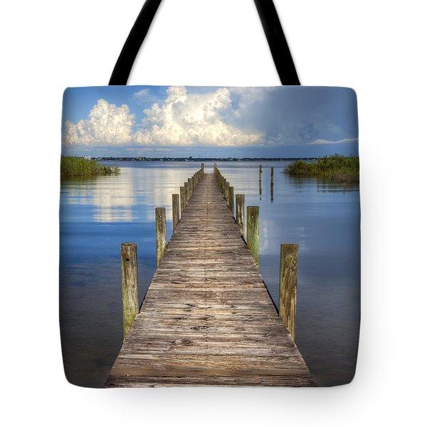 Floating Tote Bag by Debra and Dave Vanderlaan
