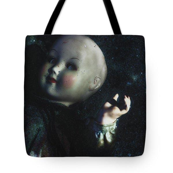 floating doll Tote Bag by Joana Kruse